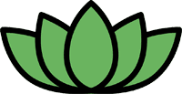 daily yogi green lotus logo
